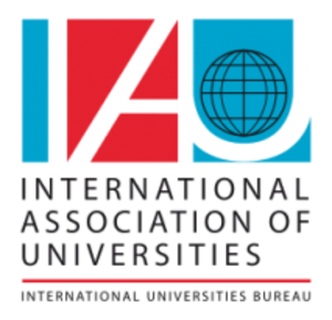 International Association of Universities - Image: International Association of Universities logo and wordmark English