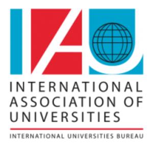 International Association of Universities - Image: International Association of Universities logo and wordmark English