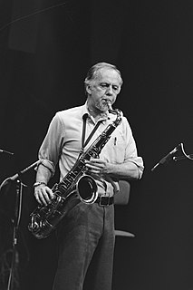 Warne Marsh American tenor saxophonist