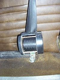 Seat Belt uncovered Inertial Reel