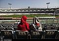 Iranian Female journalists in Azadi Stadium 01.jpg