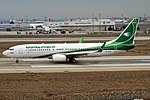Iraqi Airways, YI-ASR, Boeing 737-81Z (47585393392).jpg
