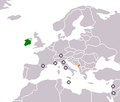 Ireland Montenegro Locator.png