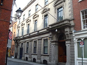 Irish Stock Exchange - Image: Irish Stock Exchange, Anglesea Street