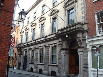 Euronext Dublin - Image: Irish Stock Exchange, Anglesea Street