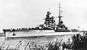 Italian cruiser Gorizia