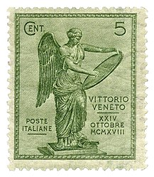 Italy-Stamp-1921-Battle of Vittorio Veneto