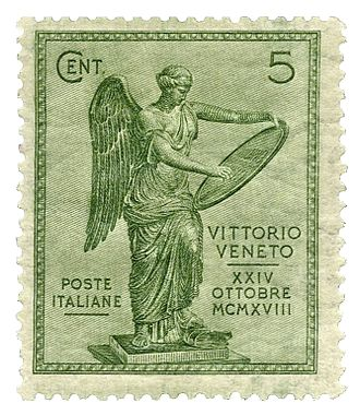 Battle of Vittorio Veneto - Image: Italy Stamp 1921 Battle of Vittorio Veneto