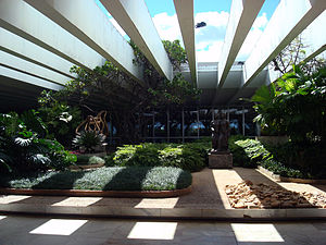 Roberto Burle Marx - Itamaraty Palace, headquarters of the Ministry of External Relations in Brasília