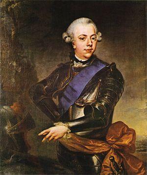 Johann Georg Ziesenis - Image: J. G. Ziesenis State Portrait of Prince William V