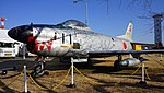 JASDF F-86D(84-8111) left front view at Komaki Air Base February 23, 2014 01.jpg