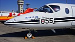 JASDF T-400(41-5055) nose section left front view at Komaki Air Base February 23, 2014.jpg