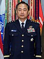 JGSDF General Koji Yamazaki 山崎幸二陸将 (US Navy photo 191001-D-PB383-001 CJCS Hosts ROK, Japanese Counterparts for Multilateral Discussions).jpg