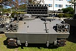 JGSDF Type 75 130mm Multiple Rocket Launcher front view at Camp Himeji October 21, 2018.jpg