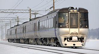 785 series - 785 series on a Super Kamui service, January 2009