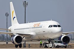 Airbus A320-200 der Petra Airlines