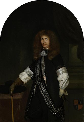 Jacob de Graeff - Jacob de Graeff, painted by Gerard Ter Borch (between 1670 and 1675 (1670–1681)
