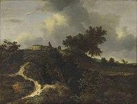 Jacob van Ruisdael - Sandhügel mit Bäumen bewachsen - 1022 - Bavarian State Painting Collections.jpg