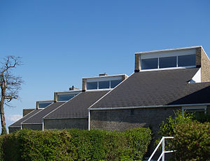 Søholm Row Houses - Image: Jacobsen Søholm I houses