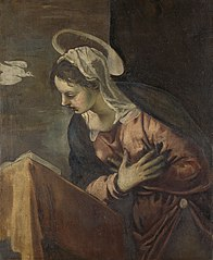 Virgin from the Annunciation to the Virgin