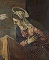 Jacopo Tintoretto - De verkondiging aan Maria - Maria.jpg
