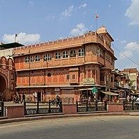 Jaipur 03-2016 14 Kale Hanuman Ji Temple.jpg