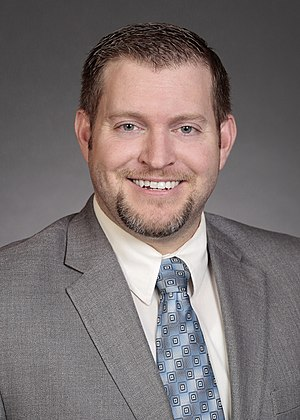 Jake Chapman (politician) - Official Portrait for the 85th General Assembly