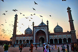 Gyula Germanus - Jama Masjid in Delhi from 1656