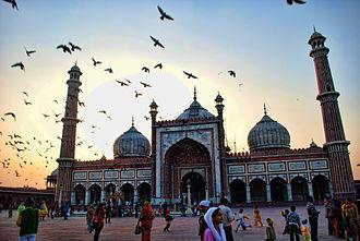 Jama Masjid, Delhi - Main Facade