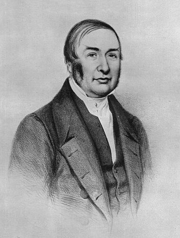 Photograph of Portrait of James Braid. Before 1860, artist unknown. From an engraved portrait in the possession of the Manchester Medical School. In the public domain. Source http://www.pubmedcentral.gov/articlerender.fcgi?artid=1034288
