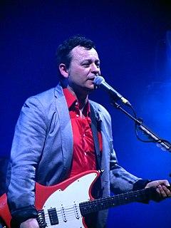 James Dean Bradfield Welsh musician, lead singer and guitarist of the Manic Street Preachers