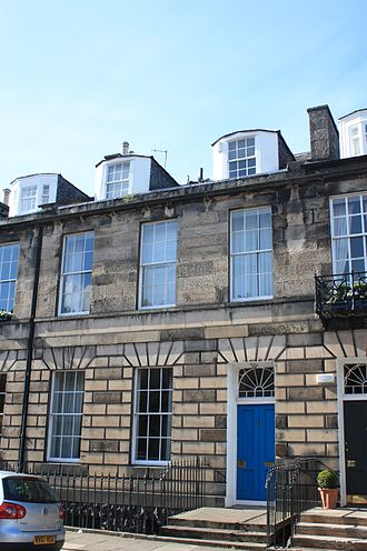 James Gillespie Graham - James Gillespie Graham's Edinburgh townhouse, at 34 Albany Street