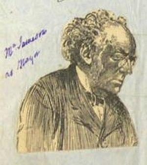 James Jameson - Sketch of James Jameson