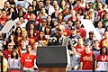 Jamie Foxx speaking at the Moving America Foward Rally at USC on Oct. 22, 2010. (5105578145).jpg