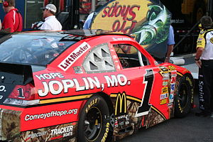 Jamie McMurray - McMurray's car for the 2011 Coca-Cola 600, run in support of his hometown of Joplin, Missouri
