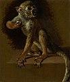 Jan Weenix - Een zittend aapje - SK-A-5053 - Rijksmuseum.jpg