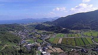 Itoshima, Fukuoka - Terraced fields in Itoshima