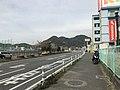 Japan National Route 3 and Mount Tachibanayama 5.jpg