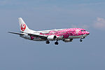 Japan Transocean Air, B737-400, JA8992 (17825949943).jpg