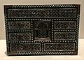 Japan c 1580-1620 namban style - cabinet in wood lacquer gold copper mother-of-pearl IMG 9442 Museum of Asian Civilisation.jpg