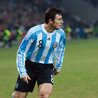 Javier Zanetti - Zanetti during the friendly match against Portugal on 9 February 2011