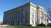 Jay County Courthouse from southwest.jpg