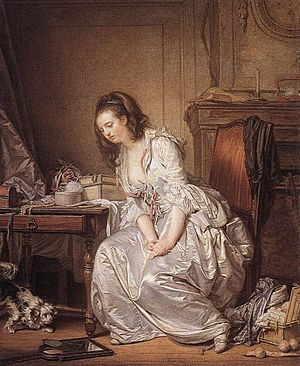 Jean-Baptiste Greuze - The Broken Mirror - WGA...