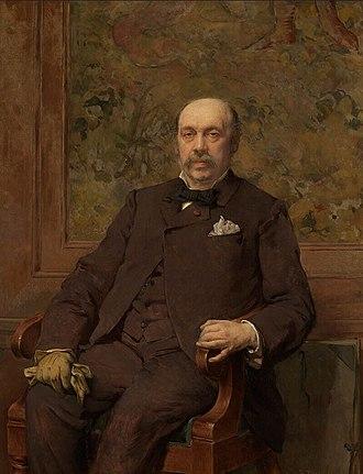 Jean-François Portaels - Self-portrait