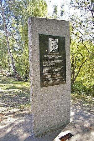 Jean Henri Dunant Monument