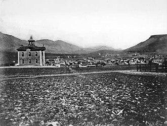 Jefferson County Public Schools (Colorado) - Image: Jefferson County School No. 1, 1873