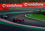 Jenson Button, Nico Hulkenberg & Michael Schumacher (4956801687).jpg