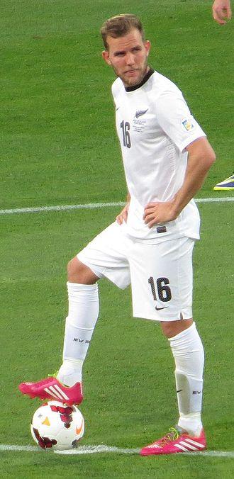 Jeremy Brockie - Brockie playing for New Zealand in 2013