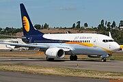 Current Jet Airways livery