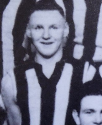 Jim Flynn (footballer) - Flynn in 1896 during his Collingwood VFA career